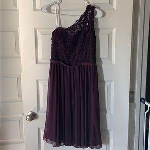Plum David Bridal Dress
